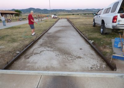 Pouring Taxiway 8-9-16 2